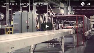 How A C.H.I. Garage Door Is Made