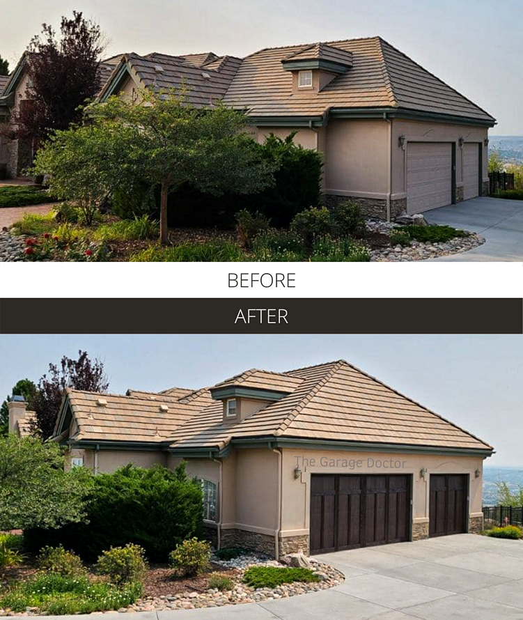 Before and After - The Garage Doctor Shoreline