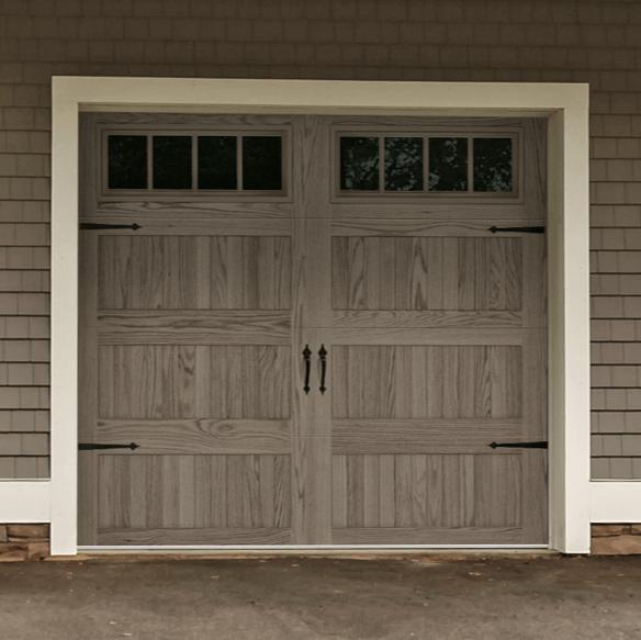 Beautiful Wood Overhead Garage Doors