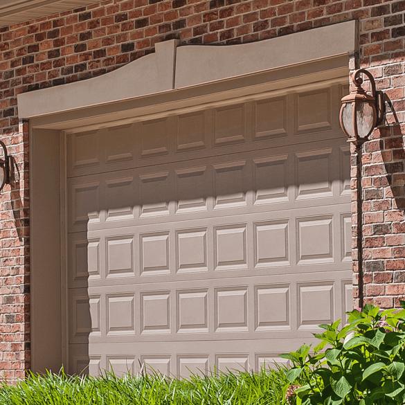 Raised Panel & Garage Doors Built By C.H.I. Overhead Doors