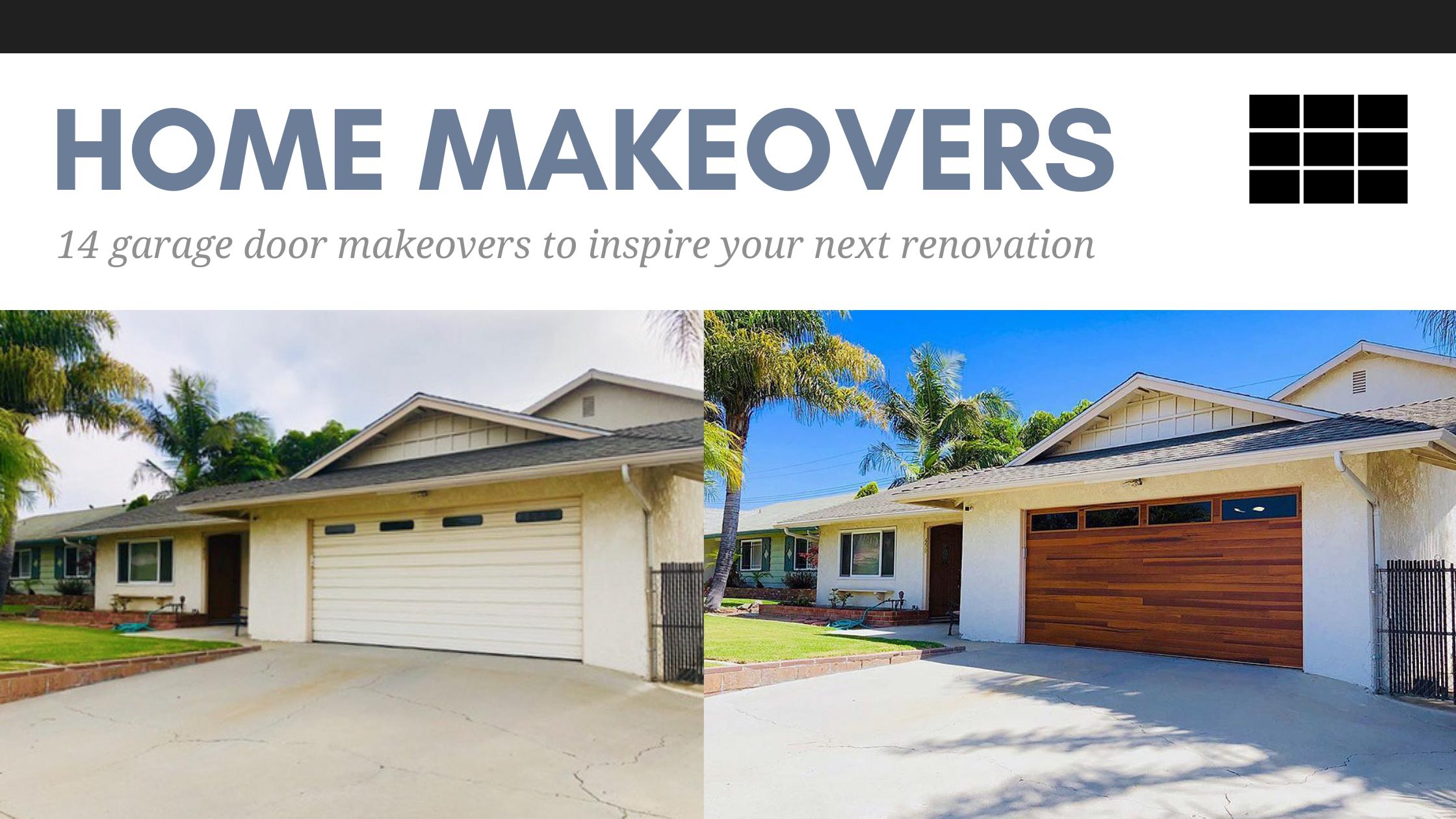14 Garage Door Makeovers to Inspire Your Next Renovation