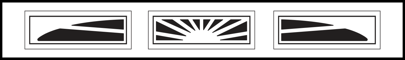 3 Piece Sunburst