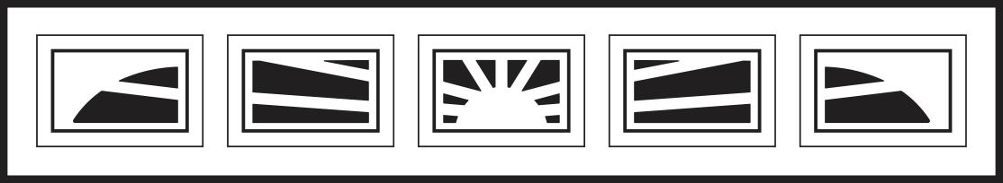 5 Piece Sunburst