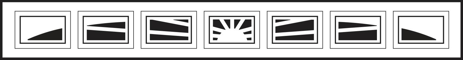 7 Piece Sunburst