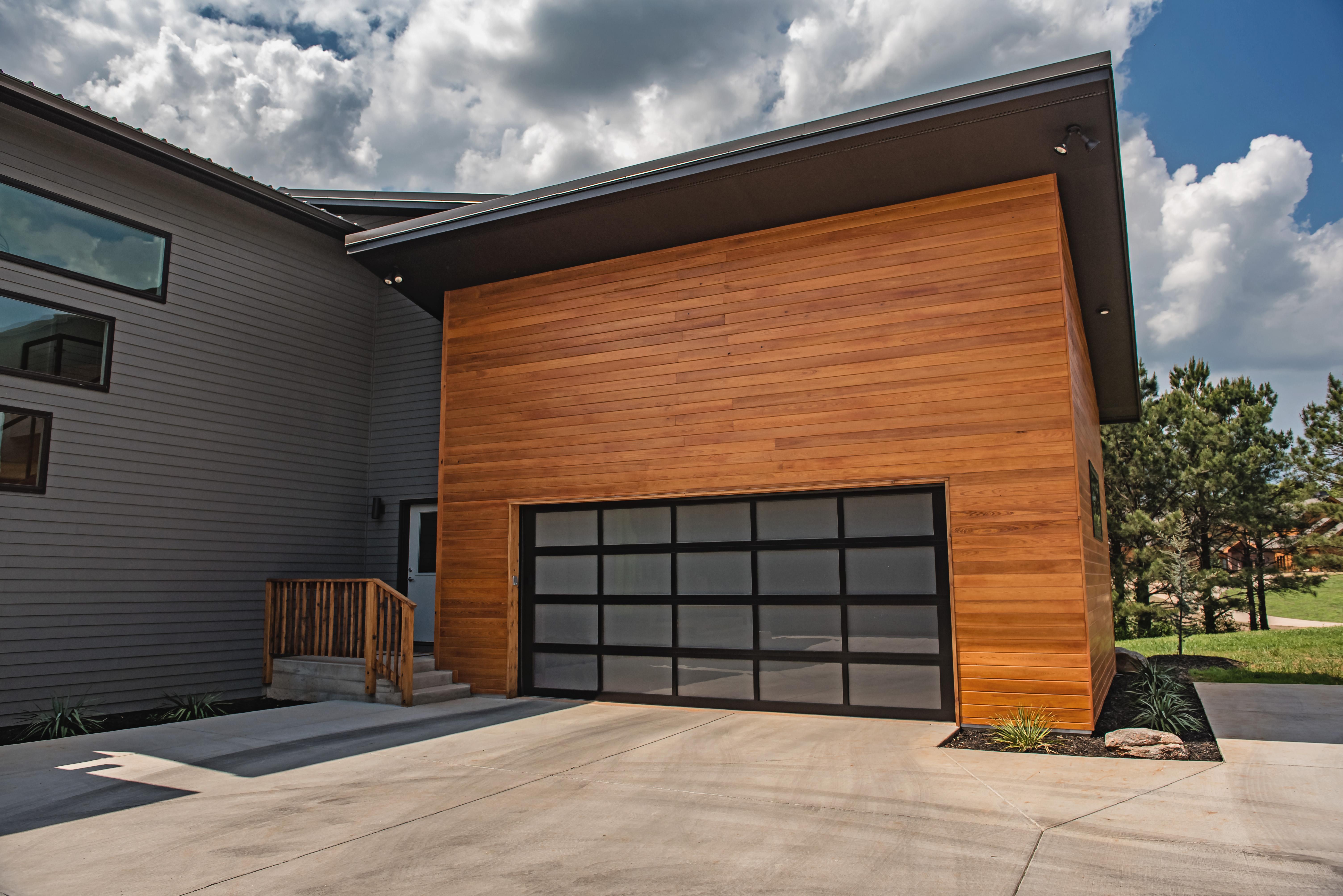 CHI Glass Garage Door in Chicago